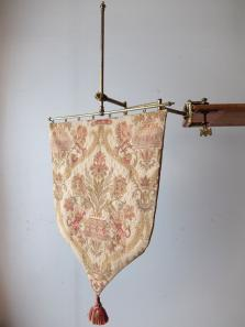 Tapestry with Brass Holder (A1219)
