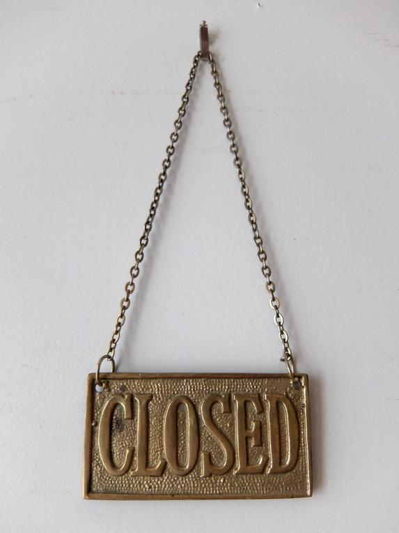 Open/Closed Sign (A0119)