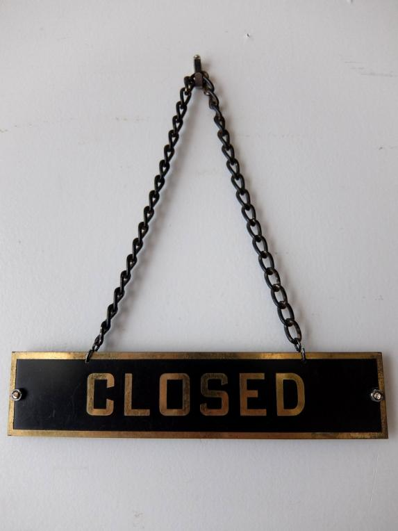 Open/Closed Sign (A1218)