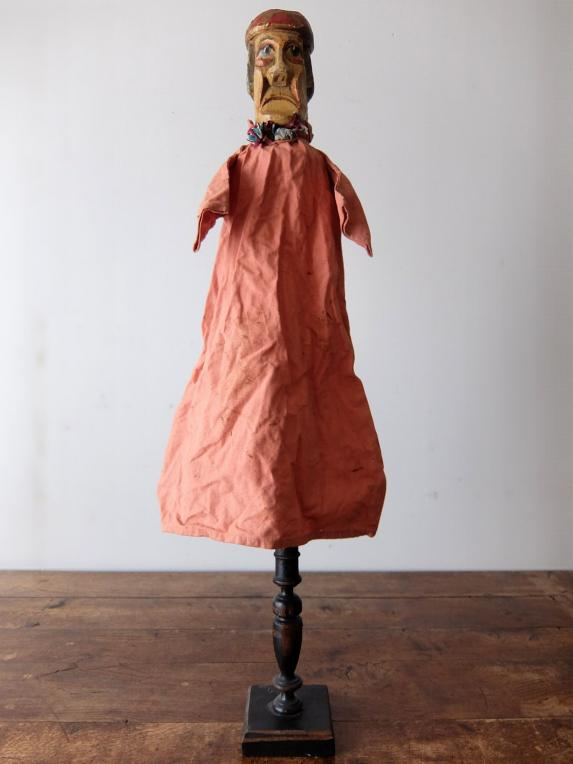 Wooden Puppet with Stand (Artist) (B0219)