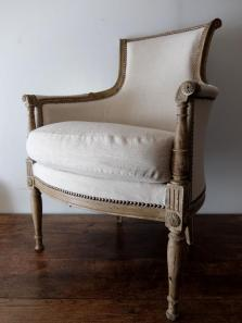 French Arm Chair (A0920)