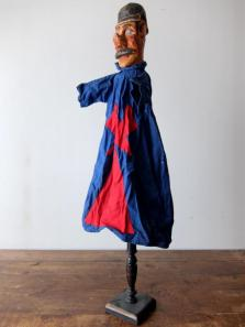 Wooden Puppet with Stand (Police) (A0219)