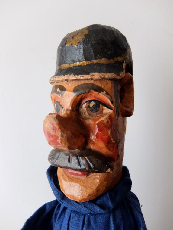 Wooden Puppet with Stand (Artist) (A0219)