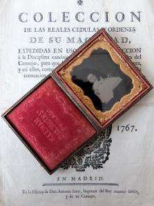 Daguerreotype Picture with Case (B0120)