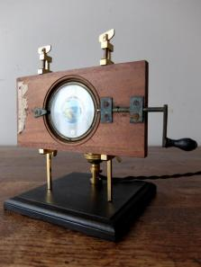Magic Lantern Slide with Stand Lamp (A1118)