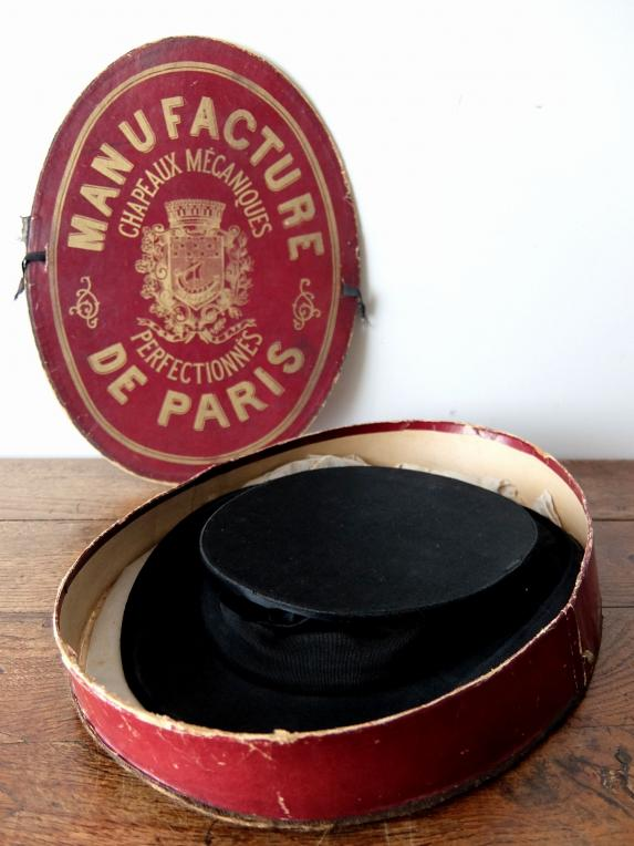 Silk Hat with Box (A0217)