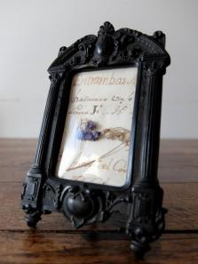Photo Frame 【Bois Durci】 (A0121-02)