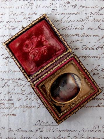 Daguerreotype Picture with Case (C0219)