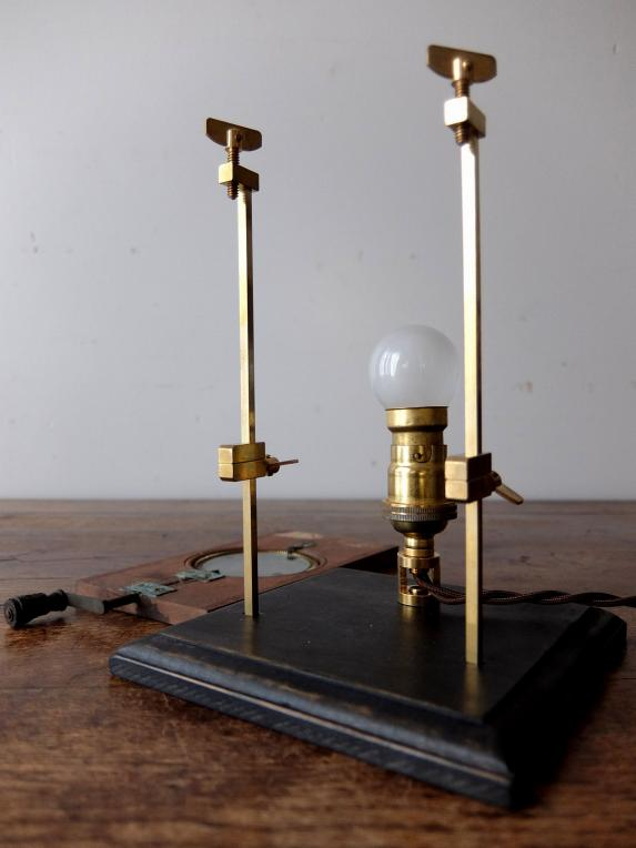 Magic Lantern Slide with Stand Lamp (B1118)
