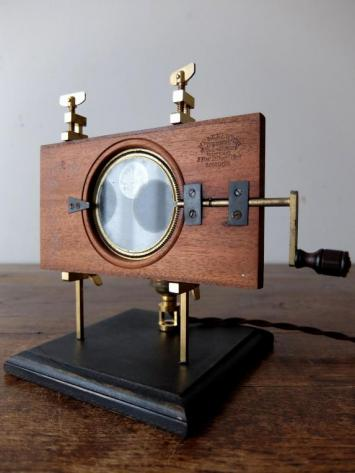 Magic Lantern Slide with Stand Lamp (C0219)