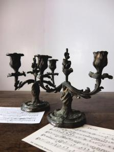 Pair of Candle Stands (A0414)