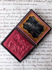 Daguerreotype Picture with Case (A0318)