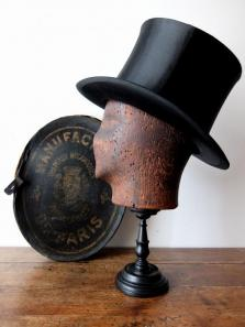 Silk Hat with Box (A0317)