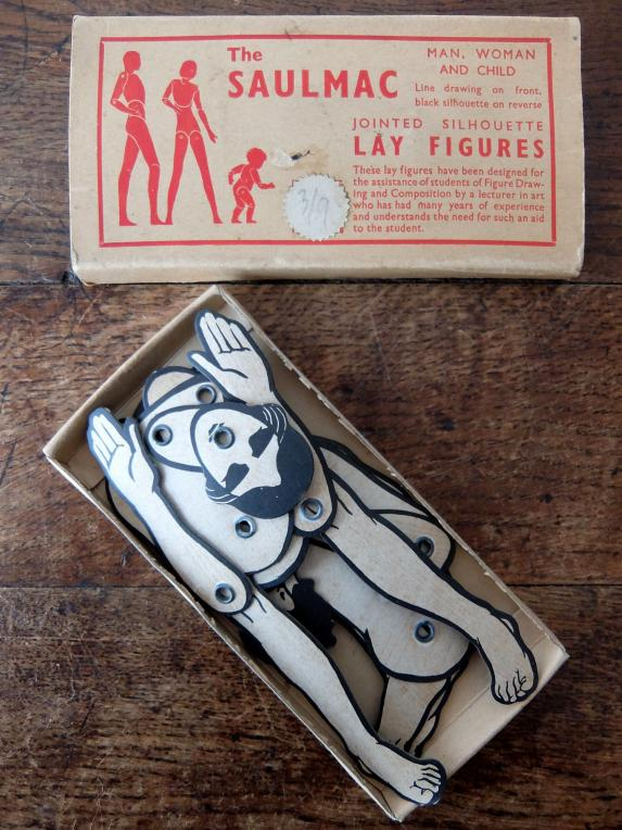 Lay Figure with Box (A0319)