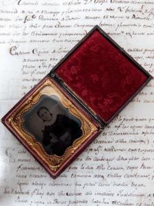 Daguerreotype Picture with Case (F0318)