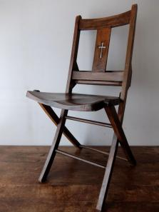 Folding Church Chair (A0319-04)