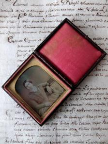 Daguerreotype Picture with Case (E0318)