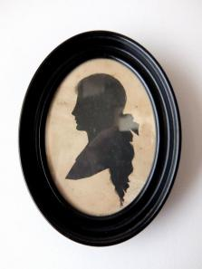 Frame Napoleon Ⅲ with Silhouette Portrait (B0317)