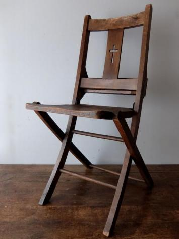 Folding Church Chair (A0319-03)