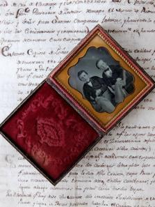 Daguerreotype Picture with Case (A0418)