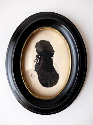Frame Napoleon Ⅲ with Silhouette Portrait (A0418)