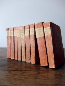 Antique Books (9 pcs) (A0415)