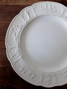 Wedgwood Relief Plate 【L】 (A0421)