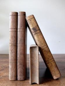 Wooden Books (4 pcs) (A0416)