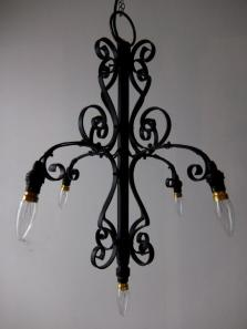 Iron Chandelier (A0114)