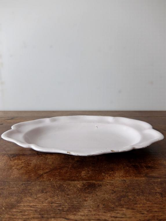 Moustiers White Plate (C0419)