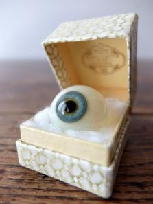 Prosthetic Glass Eye with Box (F0518-03)