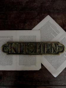 """KITCHEN"" Sign (A0214)"