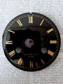 Enamel Clock Face (A0520)