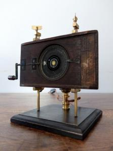 Magic Lantern Slide with Stand Lamp (A0420)