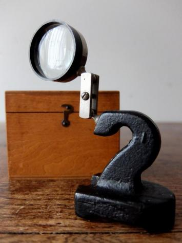 Jeweler's Magnifying Glass with Box (A0519)