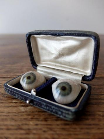 Prosthetic Glass Eyes with Box (A0917-02)