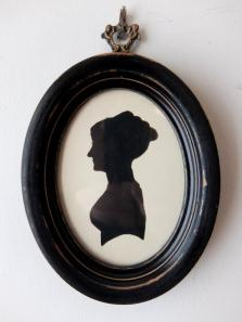 Frame Napoleon Ⅲ with Silhouette Portrait (A0719)