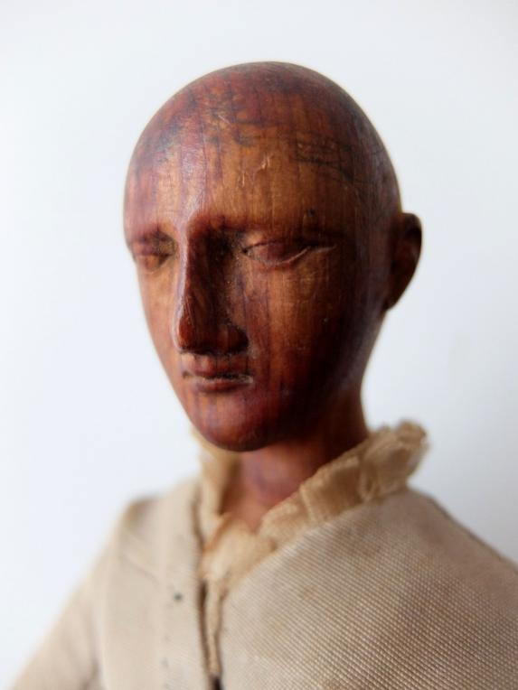 Articulated Carved Doll (A0617)