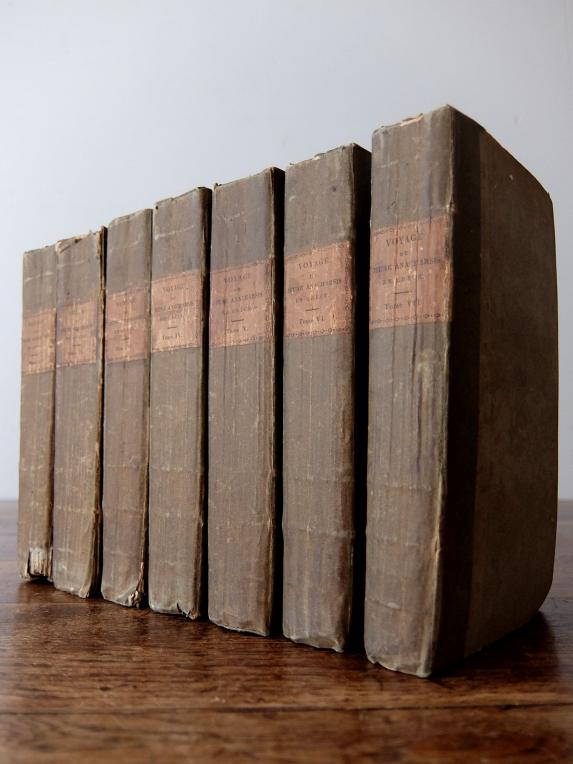 Antique Books (7 pcs) (C0619)