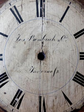 Wooden Clock Face (A0820)