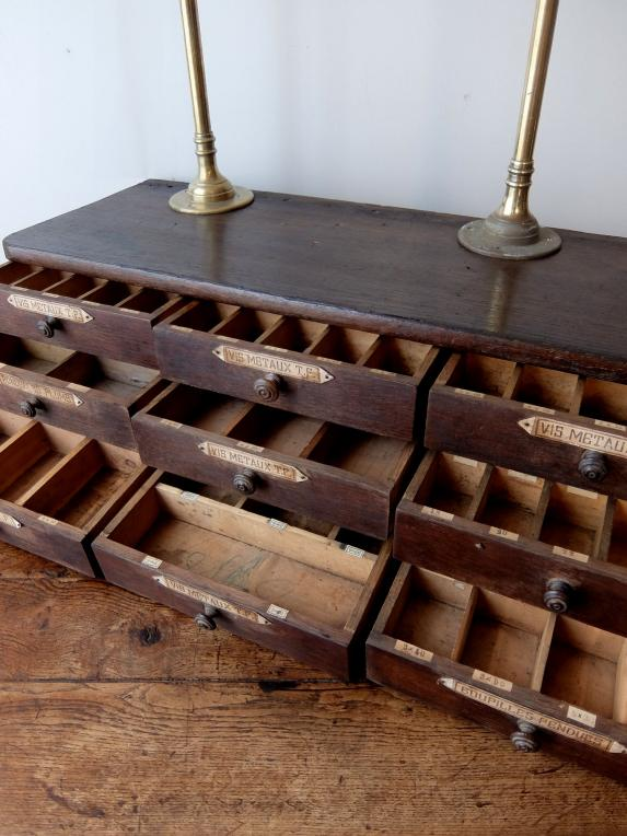 French Drawers with Shelf (A0419)