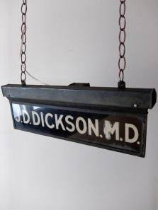Doctor's Sign Lamp (A0820)