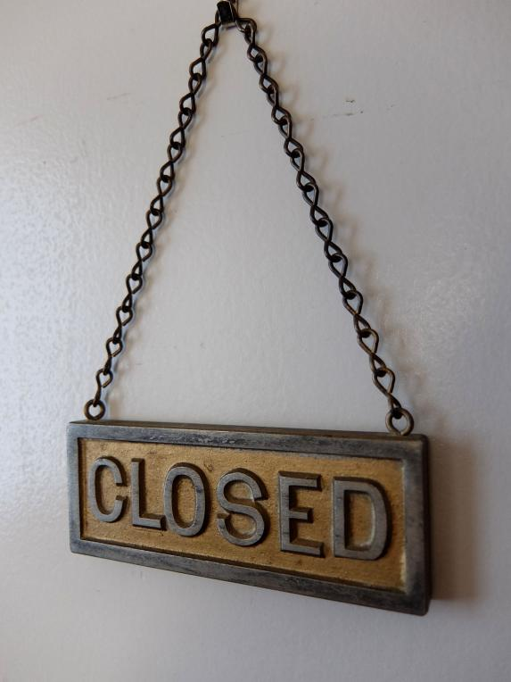 Open/Closed Sign (A0920)