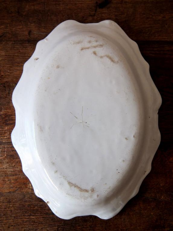 Moustiers White Plate (B0915)