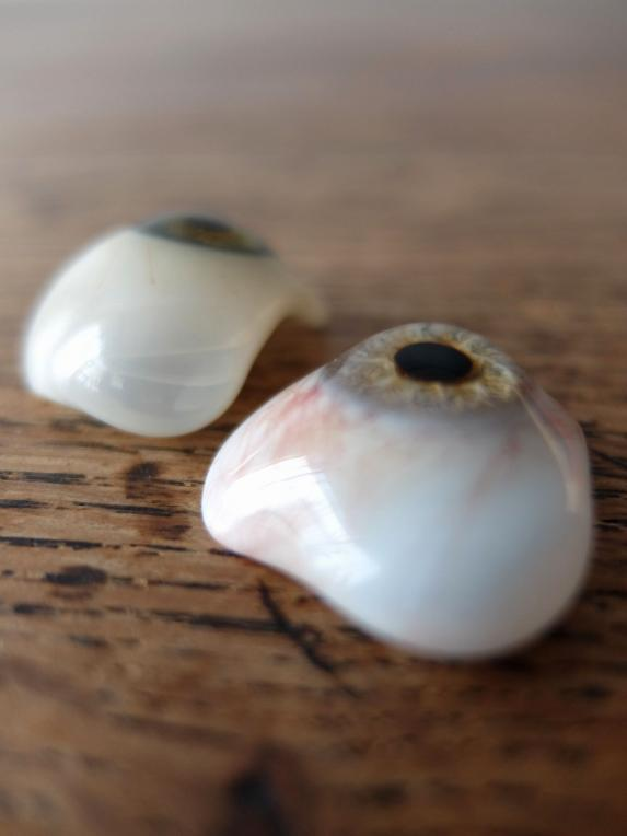 Prosthetic Glass Eyes with Box (B0717-02)