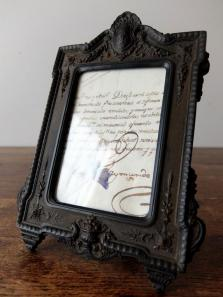 Photo Frame 【Bois Durci】 (F1019)