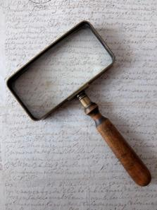 Square Magnifying Glass (A1018)