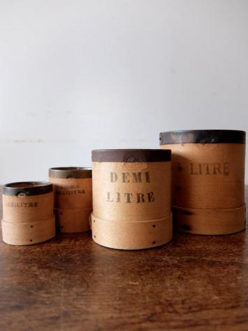 Wooden Measure Cups (4 pcs) (A1020)