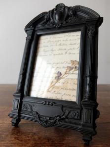 Photo Frame 【Bois Durci】 (B1019)