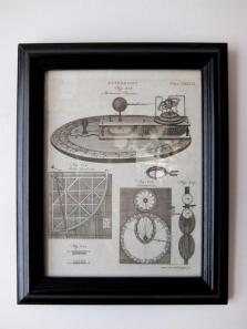 Copperplate Print 【Astronomy】 (A1117-04)